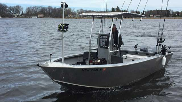 Driftwater Fishing inshore guide boat